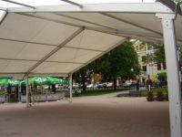 Hala namiotowa - Kałużówka, Rynek